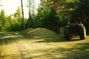 2005 Gravel pile